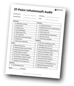 37-PointInfusionsoftAudit
