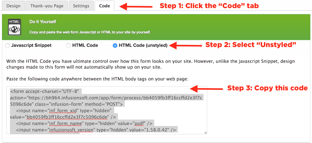Unstyle-Web-Form-Code